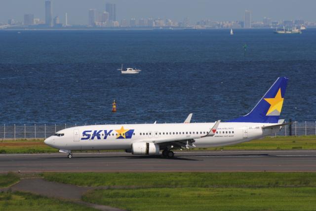 Kyoheiさんが、羽田空港で撮影したスカイマーク 737-8FHの航空フォト(飛行機 写真・画像)