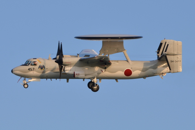 Deepさんが、那覇空港で撮影した航空自衛隊 E-2C Hawkeyeの航空フォト(飛行機 写真・画像)