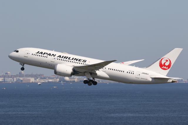 やまけんさんが、羽田空港で撮影した日本航空 787-8 Dreamlinerの航空フォト(飛行機 写真・画像)
