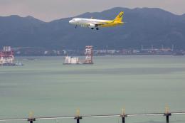 Kaaazさんが、香港国際空港で撮影したバニラエア A320-214の航空フォト(飛行機 写真・画像)