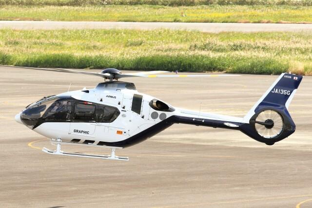 デデゴンさんが、岡南飛行場で撮影した日本法人所有 EC135P3の航空フォト(飛行機 写真・画像)