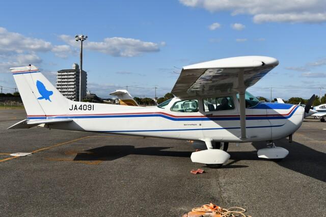 デデゴンさんが、岡南飛行場で撮影した日本個人所有 172P Skyhawkの航空フォト(飛行機 写真・画像)