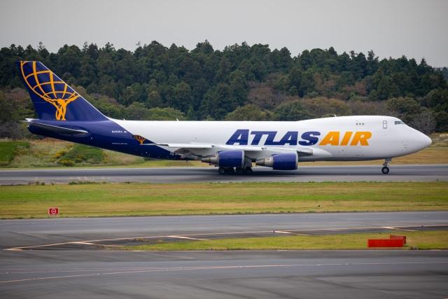 TIA spotterさんが、成田国際空港で撮影したアトラス航空 747-46NFの航空フォト(飛行機 写真・画像)