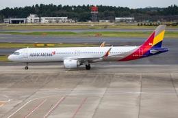 TIA spotterさんが、成田国際空港で撮影したアシアナ航空 A321-251NXの航空フォト(飛行機 写真・画像)