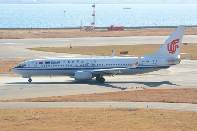 Deepさんが、関西国際空港で撮影した中国国際航空 737-89Lの航空フォト(飛行機 写真・画像)
