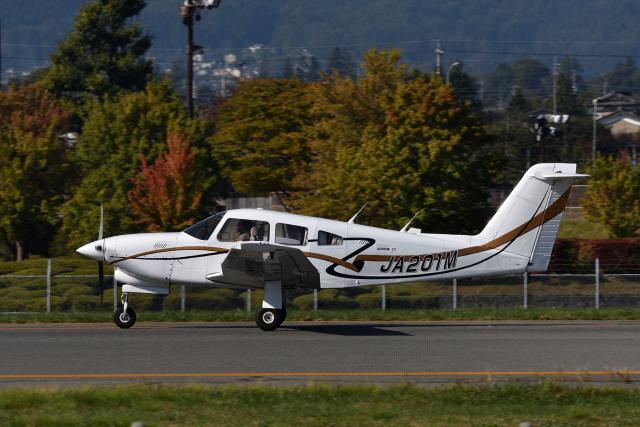EC5Wさんが、松本空港で撮影した日本個人所有 PA-28RT-201T Turbo Arrow IVの航空フォト(飛行機 写真・画像)