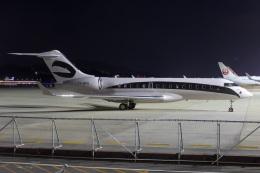 MOR1(新アカウント)さんが、福岡空港で撮影したuntitled BD-700-1A10 Global 6000の航空フォト(飛行機 写真・画像)