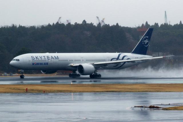 採れたてほしいもさんが、成田国際空港で撮影した大韓航空 777-3B5/ERの航空フォト(飛行機 写真・画像)