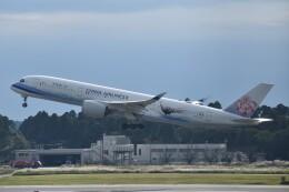 PIRORINGさんが、成田国際空港で撮影したチャイナエアライン A350-941の航空フォト(飛行機 写真・画像)