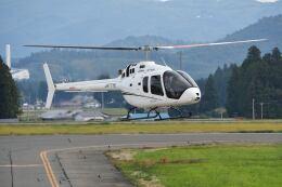 Cスマイルさんが、花巻空港で撮影した雄飛航空 505 Jet Ranger Xの航空フォト(飛行機 写真・画像)