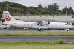MOR1(新アカウント)さんが、沖永良部空港で撮影した日本エアコミューター ATR 72-600の航空フォト(飛行機 写真・画像)
