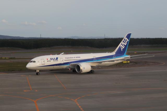 Musondaさんが、新千歳空港で撮影した全日空 787-8 Dreamlinerの航空フォト(飛行機 写真・画像)