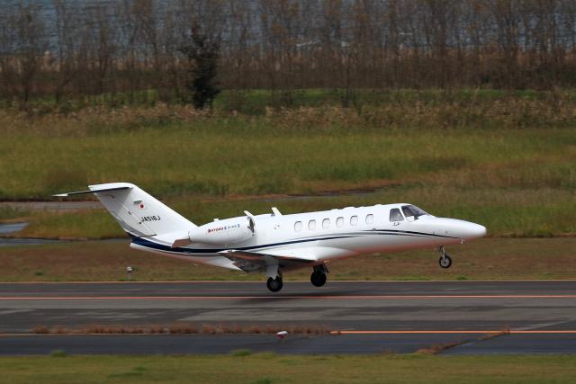 TAKAHIDEさんが、新潟空港で撮影した毎日新聞社 525A Citation CJ2の航空フォト(飛行機 写真・画像)