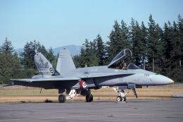 JAパイロットさんが、アボッツフォード国際空港で撮影したカナダ軍 F/A-18A Hornetの航空フォト(飛行機 写真・画像)
