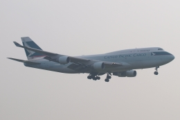 木人さんが、成田国際空港で撮影したキャセイパシフィック航空 747-412(BCF)の航空フォト(飛行機 写真・画像)