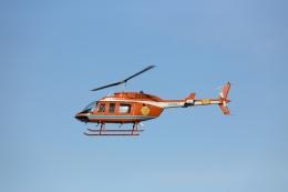 ゆうゆう@NGOさんが、名古屋飛行場で撮影した新日本ヘリコプター 206L-3 LongRanger IIIの航空フォト(飛行機 写真・画像)