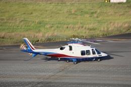 ゆうゆう@NGOさんが、名古屋飛行場で撮影した静岡エアコミュータ AW109SPの航空フォト(飛行機 写真・画像)