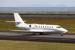 動物村猫君さんが、大分空港で撮影したノエビア 680 Citation Sovereignの航空フォト(飛行機 写真・画像)