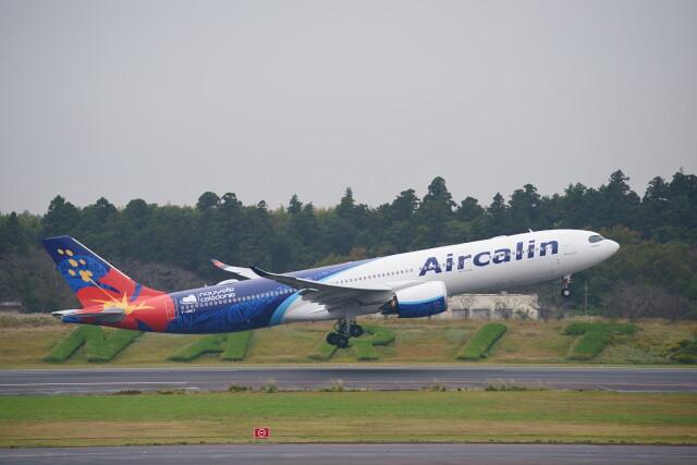 IMP.TIさんが、成田国際空港で撮影したエアカラン A330-941の航空フォト(飛行機 写真・画像)