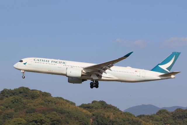 虎太郎19さんが、福岡空港で撮影したキャセイパシフィック航空 A350-941の航空フォト(飛行機 写真・画像)
