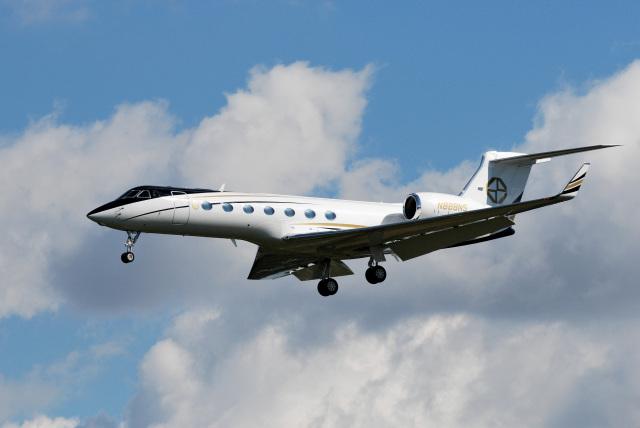 アルビレオさんが、成田国際空港で撮影した不明 G500/G550 (G-V)の航空フォト(飛行機 写真・画像)