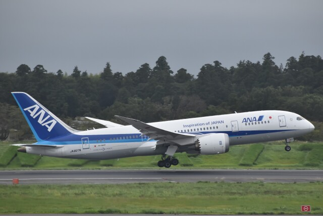 PIRORINGさんが、成田国際空港で撮影した全日空 787-8 Dreamlinerの航空フォト(飛行機 写真・画像)