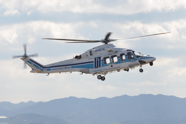 Deepさんが、関西国際空港で撮影した海上保安庁 AW139の航空フォト(飛行機 写真・画像)