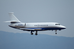 T.Sazenさんが、関西国際空港で撮影した-- Falcon 2000EXの航空フォト(飛行機 写真・画像)