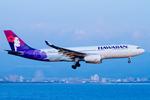 Scotchさんが、関西国際空港で撮影したハワイアン航空 A330-243の航空フォト(写真)