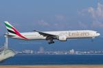 Scotchさんが、関西国際空港で撮影したエミレーツ航空 777-36N/ERの航空フォト(写真)