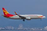 Scotchさんが、関西国際空港で撮影した香港エクスプレス 737-84Pの航空フォト(飛行機 写真・画像)