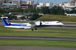 たろさんが、伊丹空港で撮影したANAウイングス DHC-8-402Q Dash 8の航空フォト(写真)