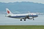T.Sazenさんが、関西国際空港で撮影した中国国際航空 A319-115の航空フォト(飛行機 写真・画像)