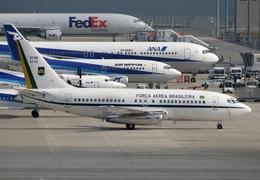 なごやんさんが、中部国際空港で撮影したブラジル空軍 VC-96 (737-2N3/Adv)の航空フォト(飛行機 写真・画像)
