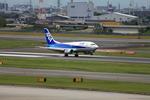 たろさんが、伊丹空港で撮影したANAウイングス 737-54Kの航空フォト(写真)