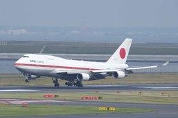 Re4/4さんが、羽田空港で撮影した航空自衛隊 747-47Cの航空フォト(飛行機 写真・画像)