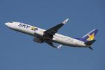 WING_ACEさんが、新千歳空港で撮影したスカイマーク 737-8HXの航空フォト(飛行機 写真・画像)