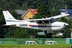 Chofu Spotter Ariaさんが、調布飛行場で撮影した日本デジタル研究所(JDL) 172R Skyhawkの航空フォト(飛行機 写真・画像)
