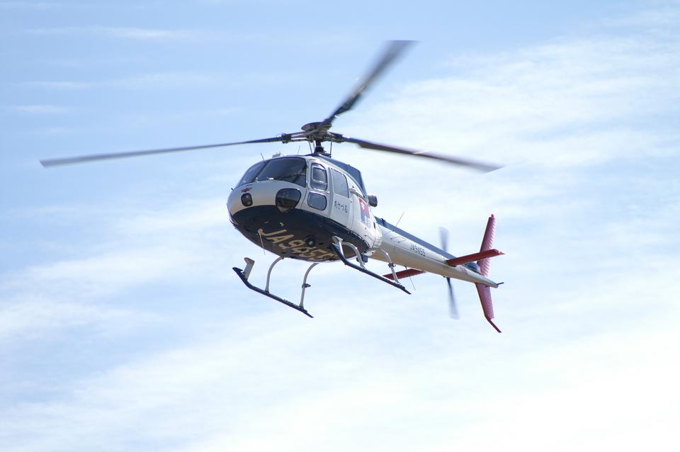 メニSさんの中日新聞社 Aerospatiale AS350 Ecureuil/AStar (JA9455) 航空フォト