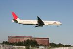 フレッシュマリオさんが、成田国際空港で撮影した日本航空 777-346/ERの航空フォト(写真)