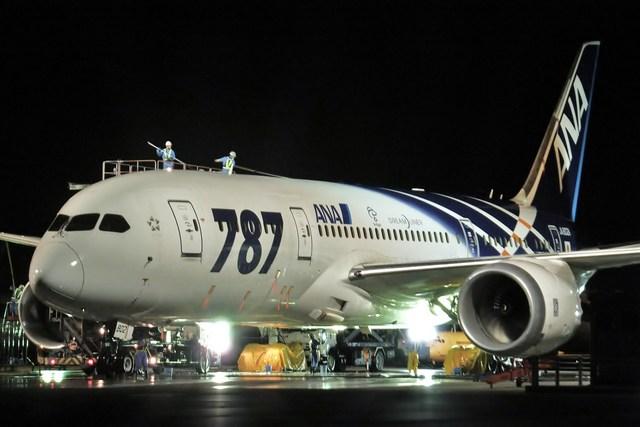 JA731Aさんが、羽田空港で撮影した全日空 787-8 Dreamlinerの航空フォト(飛行機 写真・画像)