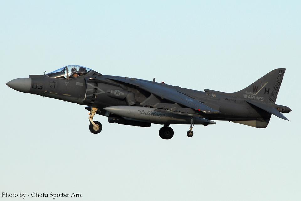 Chofu Spotter Ariaさんのアメリカ海兵隊 McDonnell Douglas AV-8B Harrier II (165003) 航空フォト