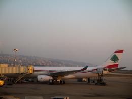 すっちゃさんが、ベイルート・ラフィク・ハリリ国際空港で撮影したミドル・イースト航空の航空フォト(飛行機 写真・画像)