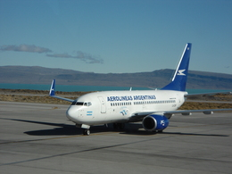 katsuakiさんが、コマンダンテ・アルマンド・トーラ国際空港で撮影したアルゼンチン航空 737-76Nの航空フォト(飛行機 写真・画像)
