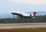 ふじいあきらさんが、広島空港で撮影したアイベックスエアラインズ CL-600-2B19 Regional Jet CRJ-100LRの航空フォト(飛行機 写真・画像)