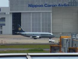 ヒロポンさんが、成田国際空港で撮影したスカイ・アヴィエーション 737-2W8/Advの航空フォト(飛行機 写真・画像)