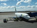 katsuakiさんが、プレジデンテ・カルロス・イバニェス・デル・カンポ国際空港で撮影したスカイ・エアライン 737-2Q3/Advの航空フォト(写真)