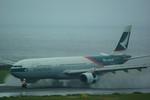 rjnsphotoclub-No.07さんが、中部国際空港で撮影したキャセイパシフィック航空 A330-342Xの航空フォト(写真)