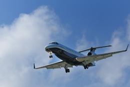 ごっすんさんが、成田国際空港で撮影したABSジェッツ EMB-135BJ Legacyの航空フォト(飛行機 写真・画像)