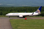 夏奈さんが、中標津空港で撮影したユナイテッド航空 737-824の航空フォト(飛行機 写真・画像)